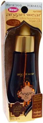حمام، الجمال، زيت أركان، الصحة، الجلد، العناية بالشعر الزيوت Physicians Formula, Inc., Argan Wear, Argan Oil, 1 fl oz (30 ml)