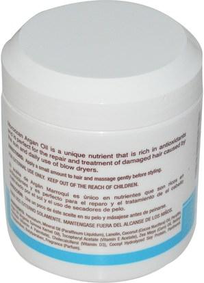 حمام، الجمال، مكيفات، أرجان Cococare, Moroccan Argan Oil, Hair Conditioner, 5 oz (148 g)