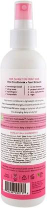 حمام، الجمال، مكيفات، الاطفال مكيفات، الاطفال ديتانغلر Babo Botanicals, Smooth Detangling Spray, Berry Primrose, 8 fl oz (237 ml)
