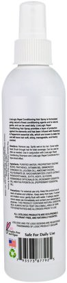 حمام، الجمال، دقة بالغة، فروة الرأس Logic Products, LiceLogic, Repel Conditioning Hair Spray, Rosemary Mint, 8 fl oz (236 ml)