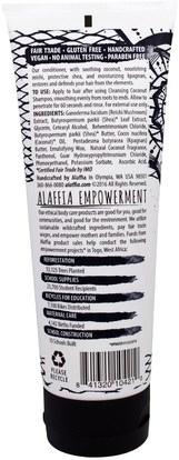 حمام، الجمال، الشعر، فروة الرأس، الشامبو، مكيف، مكيفات Alaffia, Conditioner, Nourishing Coconut, 8 fl oz (236 ml)
