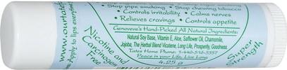 حمام، الجمال، العناية الشفاه، بلسم الشفاه، الصحة، مركز التدخين Tates, The Natural Miracle Stop Smoking Lip Balm with Vicatene, 4.25 g