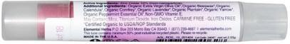 حمام، الجمال، أحمر الشفاه، معان، بطانة، العناية الشفاه All Good Products, All Good Lips, Natural Mineral Lip Tint, SPF 18, Barnabe Rose, 2.55 g
