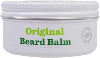 حمام، الجمال، رجل العناية الشخصية، العناية بالبشرة Bulldog Skincare For Men, Original Beard Balm, 2.5 fl oz (75 ml)