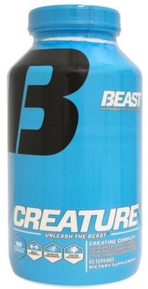 Beast Sports Nutrition, Creature, 180 Capsules ,الرياضة، الكرياتين، كبسولات، الرياضة