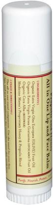 الجمال، العناية بالوجه، الجلد، حمام، العناية الشفاه، بلسم الشفاه Medicine Mamas, Sweet Bee Magic Wand, All in One Lip & Face Balm, Propolis and Honey.5 oz