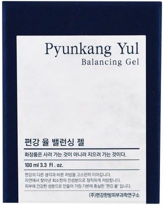 الجمال، العناية بالوجه، بشرة Pyunkang Yul, Balancing Gel, 3.3 fl oz (100 ml)