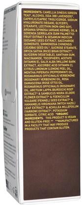 الجمال، العناية بالوجه، نوع الجلد التحرير والسرد للبشرة الدهنية، الكريمات المستحضرات، الأمصال Pangea Organics, Facial Cream, Moroccan Argan with Willow & Rosemary, 2 fl oz (59 ml)