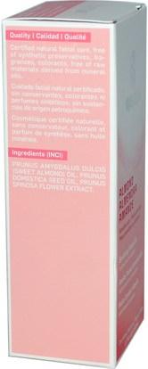 الجمال، العناية بالوجه، نوع الجلد الوردية، البشرة الحساسة Weleda, Almond, Soothing Facial Oil, 1.7 fl oz (50 ml)