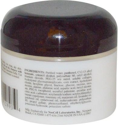 الجمال، أقنعة الوجه، حب الشباب، أقنعة عيب Neocell, Collagen, Moisturizing Treatment Masque, 1 oz (28 g)