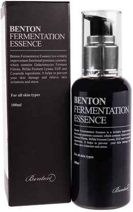 Benton, Fermentation Essence, 100 ml ,حمام، الجمال
