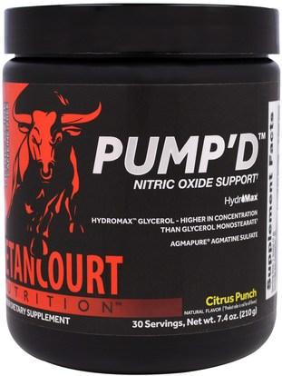 Betancourt, PumpD, Citrus Punch, 7.4 oz (210 g) ,الرياضة، تجريب، أكسيد النيتريك