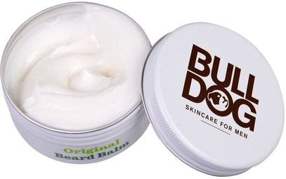 Bulldog Skincare For Men, Original Beard Balm, 2.5 fl oz (75 ml) ,حمام، الجمال، رجل العناية الشخصية، العناية بالبشرة