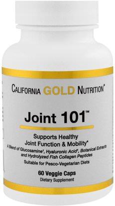 California Gold Nutrition, CGN, Targeted Support, Joint 101, 60 Veggie Capsules ,كغن الظروف 101، مكافحة الشيخوخة