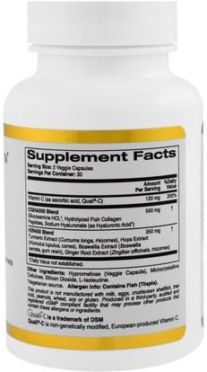 كغن الظروف 101، مكافحة الشيخوخة California Gold Nutrition, CGN, Targeted Support, Joint 101, 60 Veggie Capsules