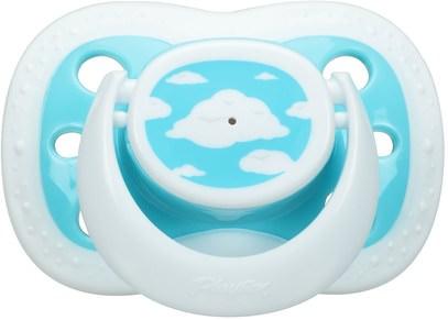 صحة الطفل، الطفل، الأطفال، اللهايات Playtex Baby, Binky, Silicone Pacifier, 6 + Months, 2 Silicone Pacifiers