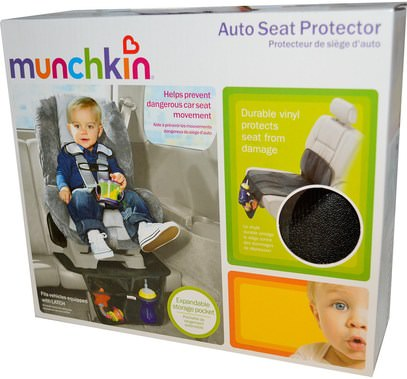 الأطفال الصحة، الطفل، الأطفال، اكسسوارات السفر للطفل Munchkin, Auto Seat Protector