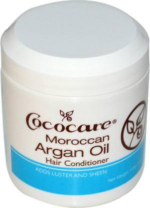 Cococare, Moroccan Argan Oil, Hair Conditioner, 5 oz (148 g) ,حمام، الجمال، مكيفات، أرجان