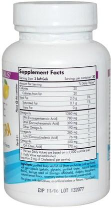 Herb-sa Nordic Naturals, Complete Omega Xtra, Lemon, 1000 mg, 60 Soft Gels