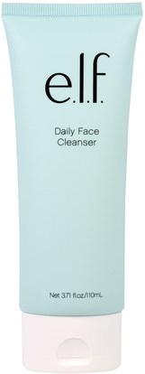 E.L.F. Cosmetics, Daily Face Cleanser, 3.71 fl. oz (110 ml) ,العناية بالبشرة