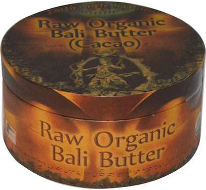 Earth Circle Organics, Raw Organic Bali Butter (Cacao), 250 g ,الصحة، الجلد، زبدة الكاكاو، الغذاء، الكاكاو (الكاكاو) الشوكولاته