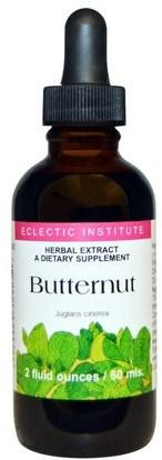 Eclectic Institute, Butternut, 2 fl oz (60 ml) ,والصحة، والإمساك