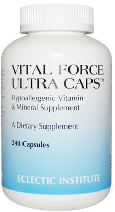Eclectic Institute, Vital Force Ultra Caps, 240 Capsules ,Herb-sa