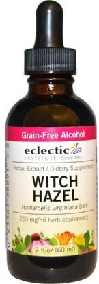 Eclectic Institute, Witch Hazel, 2 fl oz (60 ml) ,الصحة، الجلد، الساحرة هازل