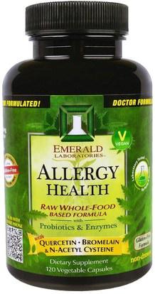 Emerald Laboratories, Allergy Health, 120 Veggie Caps ,والصحة، والحساسية، والحساسية