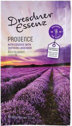 European Soaps, LLC, Dresdner Essenz, Bath Salt, Provence, 2.1 oz (60 g) ,حمام، الجمال، أملاح الاستحمام
