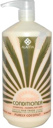 Everyday Coconut, Conditioner, Hydrating, Normal/Dry Hair, Purely Coconut, 32 fl oz (950 ml) ,حمام، الجمال، الشعر، فروة الرأس، الشامبو، مكيف، مكيفات