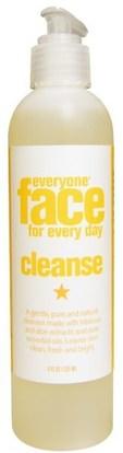 Everyone, Face for Every Day, Cleanse, 8 fl oz (237 ml) ,الجمال، العناية بالوجه، منظفات الوجه
