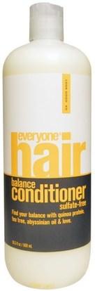 Everyone, Hair Balance Conditioner, Sulfate-Free, 20.3 fl oz (600 ml) ,حمام، الجمال، الشعر، فروة الرأس، الشامبو، مكيف، مكيفات