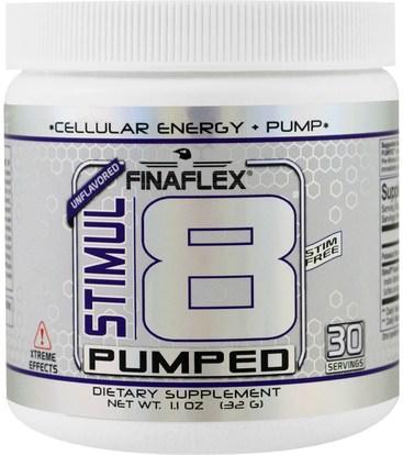Finaflex, Stimul8 Pumped, Unflavored, 11 oz (32 g) ,والصحة، والطاقة، والرياضة، تجريب