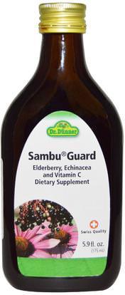 Flora, Dr. Dunner, Sambu Guard, 5.9 fl oz (175 ml) ,والصحة، والانفلونزا الباردة والفيروسية، إلديربيري (سامبوكوس)، والنباتات