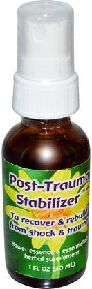 Flower Essence Services, Quintessentials, Post-Trauma Stabilizer, Flower Essence & Essential Oil, 1 fl oz (30 ml) ,Herb-sa