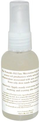 الصحة، حب الشباب، الجلد المضطرب نوع حب الشباب الجلد المعرضة Bee Naturals, Oil Free Moisturizer, 2 fl oz