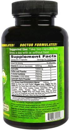 والصحة، والحساسية، والحساسية Emerald Laboratories, Allergy Health, 120 Veggie Caps