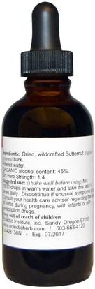 والصحة، والإمساك Eclectic Institute, Butternut, 2 fl oz (60 ml)