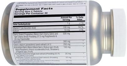 الصحة، السموم KAL, Uric Acid Flush, 60 Tablets