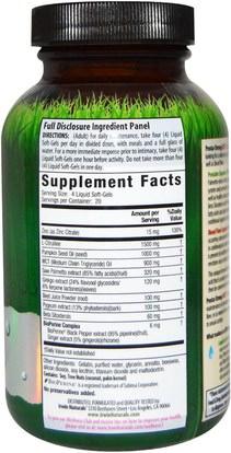 الصحة، الرجال، البروستاتا Irwin Naturals, Prosta-Strong RED, 80 Liquid Soft-Gels