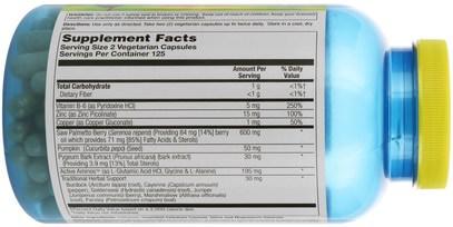 الصحة، الرجال، البروستاتا Natures Life, Prostate Maintain 600 Plus, 250 Vegetarian Capsules