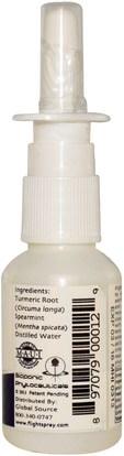 الصحة، صحة الأنف، بخاخ الأنف Global Source, Flight Spray, The First Nasal Hydration Spray for Airline Travelers, 1 fl oz (30 ml)