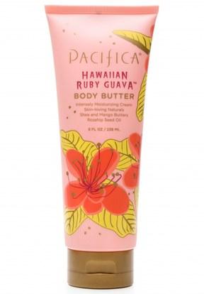 الصحة، الجلد، زبدة الجسم، زبدة الجسم Pacifica, Body Butter, Hawaiian Ruby Guava, Shea and Mango Butters, 8 fl oz (236 ml)