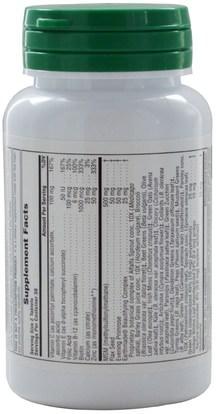 الصحة، المرأة، مكملات الشعر، مكملات الأظافر، مكملات الجلد Natures Plus, Herbal Actives, Hair, Skin & Nails, 60 Tablets