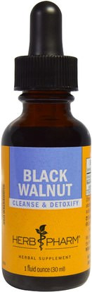 Herb Pharm, Black Walnut, 1 fl oz (30 ml) ,الأعشاب، الجوز الأسود
