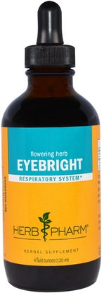 Herb Pharm, Eyebright, 4 fl oz (120 ml) ,الأعشاب، ييبرايت