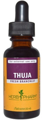 Herb Pharm, Thuja, 1 fl oz (30 ml) ,الأعشاب، ثوجا