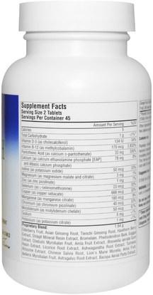 الأعشاب، أشواغاندا، ويثانيا، سومنيفيرا، أشواغاندا Planetary Herbals, Myelin Sheath Support, 820 mg, 90 Tablets