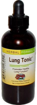 Herbs Etc., Lung Tonic, 4 fl oz (118 ml) (Discontinued Item) ,والصحة والرئة والقصبات الهوائية